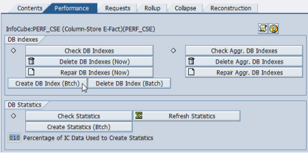 Configuring Column-Store in SAP BW