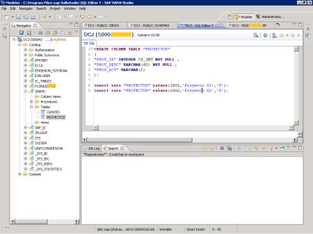 Editor SQL