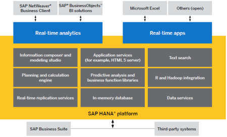 SAP HANA platform, deriving new business value