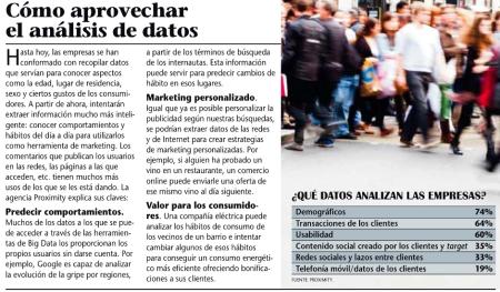 Revista Emprendedores enero-2013 (2) - Cómo aprovechar el análisis de datos