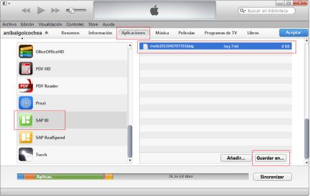 Verifica tener una versión actualizada de iTunes en tu ordenador