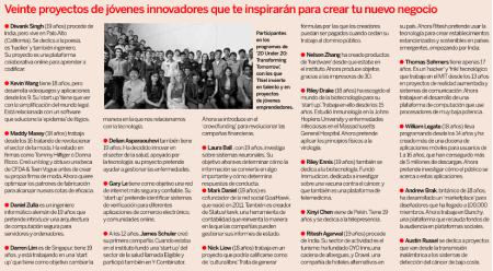 Proyectos innovadores que logran financiación, todos ellos basados en tecnologías de la información