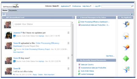 Mejoras de la conectividad entre SA BI y SAP StreamWork en la versión 4.1