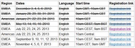 Próximas fechas para el webinar de SAP LCM de BI4 y BO3.1