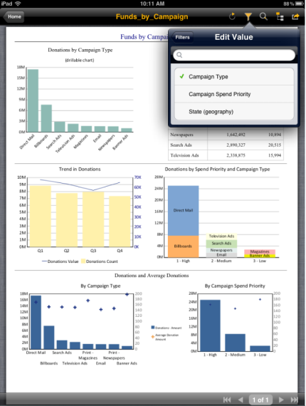 SAP Crystal Reports for Enterprise - Visualización de informes en SAP BO Mobile con más interactividad