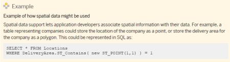 Ejemplo de las nuevas funciones SQL para el Procesamiento Espacial con SAP HANA SPS06