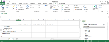 EPM Add-in 10.0 SP15 con MS Excel 2013