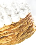 Milhojas, además de los ingredientes o compuestos, como en todo, lo más importante es cómo se combinan