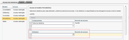 Data Access Profile basada en atributos